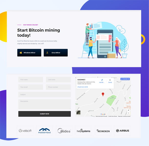 Bitcoin WordPress Theme